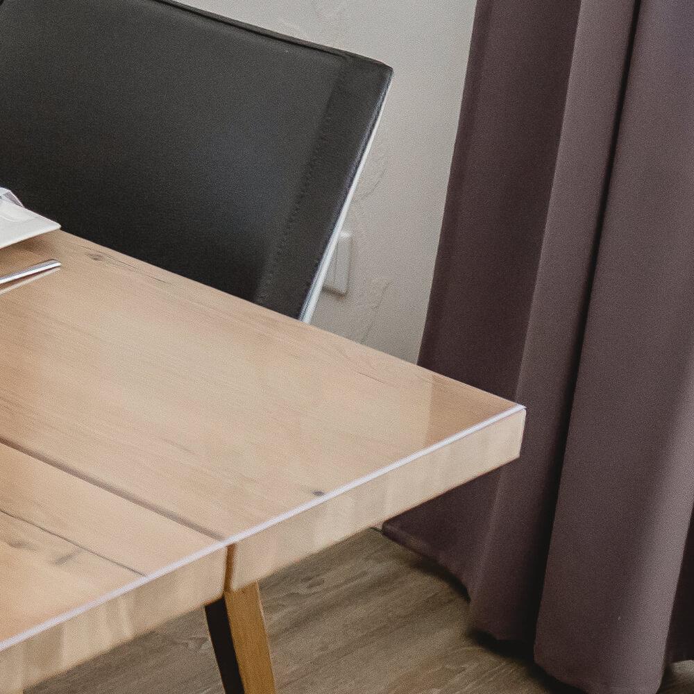 Tischfolie nach Maß. Die neue Tischdecke für Ihren Tisch