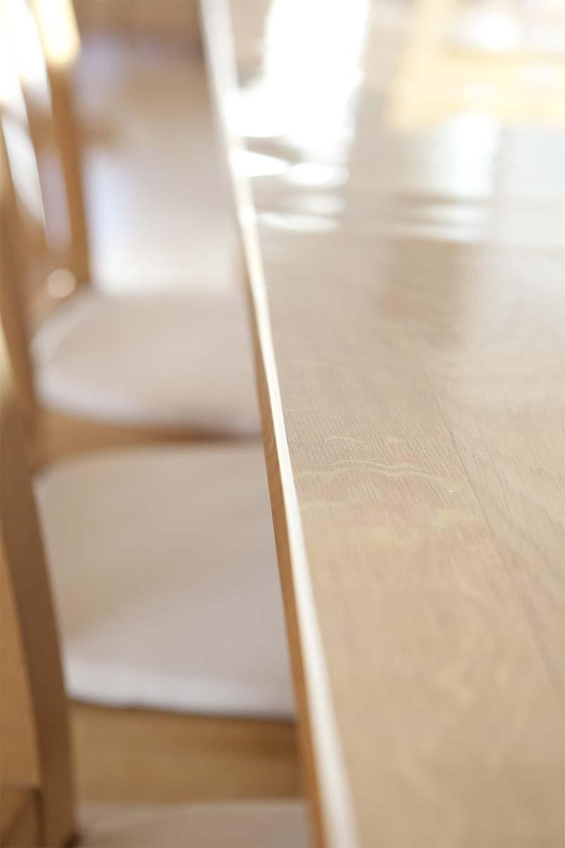Tischfolie mit abgeschreckter Kante - Nehmen Sie Kontakt mit uns auf