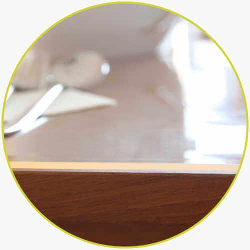 Tischdecke 2mm dick Esszimmer Geschirr Schutz