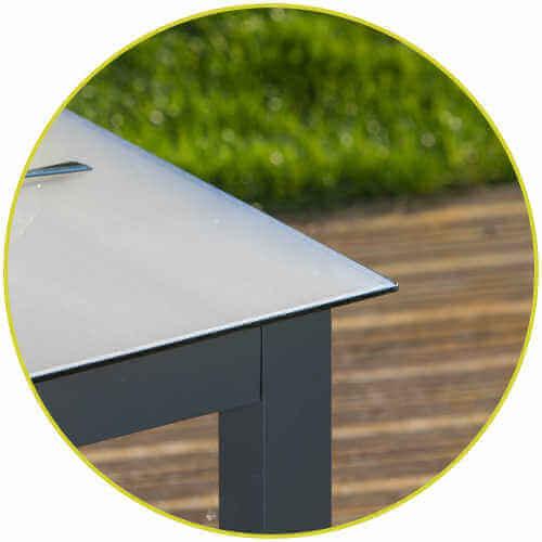 Tischdecke passgenau transparent Schutz