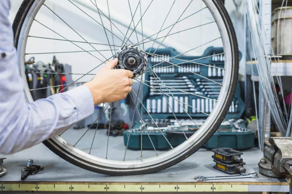 Schutzfolie transparent Reparatur Rad