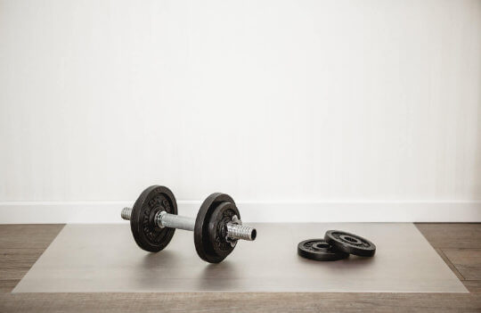 Bodenschutzmatte, Fitnessmatte