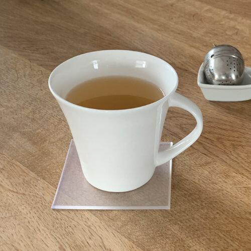 Tee Untersetzer in rechteckig