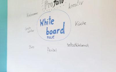 Professionelles Arbeiten mit der flexiblen Whiteboardfolie