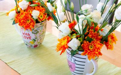 DIY – Blumengesteck binden ohne Stress